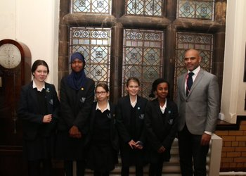 Visit to CGS for Bristol Mayor Marvin Rees