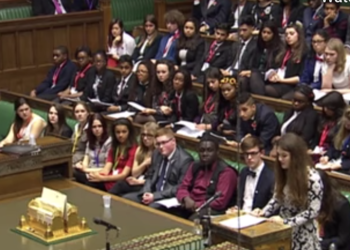 Y10 student attends UK Youth Parliament Annual Conference at the Palace of Westminster