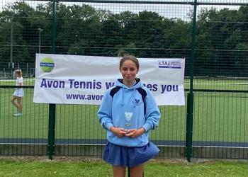 Colston's Girls' School crowned Avon Schools Tennis Champions 2021