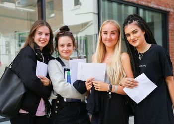 OUTSTANDING A-LEVEL RESULTS FOR CGS SIXTH FORM