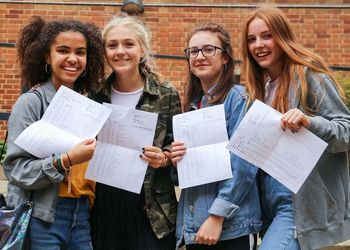 Hardworking year group achieve excellent GCSE results