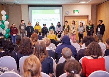 V6 Sixth Form students brave the Dragons Den to pitch for funding for their community social action projects